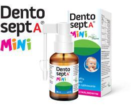 Opakowanie preparatu Dentosept A Mini dla dzieci