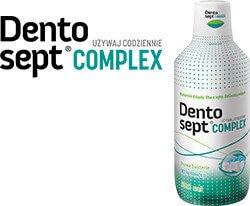 Opakowanie płynu do płukania ust Dentosept Complex