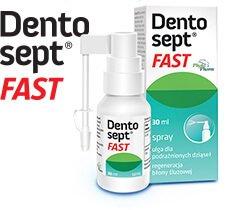 Opakowanie Dentosept FAST - ulga na podrażnione dziąsła